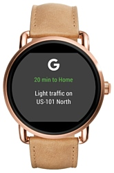 FOSSIL Gen 2 Smartwatch Q Wander (leather)