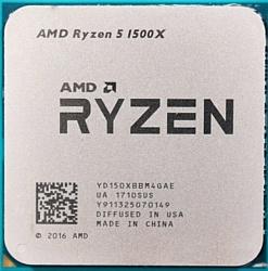 AMD Ryzen 5 1500X Summit Ridge (AM4, L3 16384Kb)