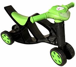 Doloni-Toys Минибайк (черный/зеленый)