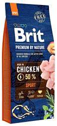 Brit (15 кг) Premium by Nature Sport