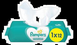 Pampers Sensitive 12 шт