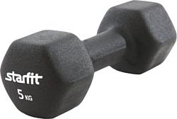 Starfit DB-201 5 кг (черный)
