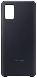 Samsung Silicone Cover для Samsung Galaxy A51 (черный)