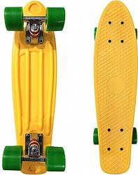 Display Penny Board Yellow/green