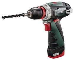 Metabo PowerMaxx BS Quick Basic 2.0Ah x2 Case