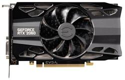 EVGA GeForce RTX 2060 1755MHz PCI-E 3.0 6144MB 14000MHz 192 bit DVI HDMI HDCP XC GAMING