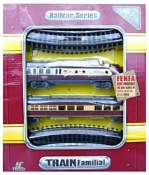 Fenfa Стартовый набор ''Паровоз с вагоном'' 1601B-5B