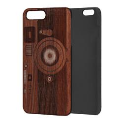 Case Wood для Apple iPhone 7/8 (палисандр, фотоаппарат)