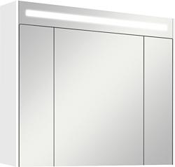 Акватон Блент 80 Зеркальный шкаф белый (1.A161.0.02B.L01.0)