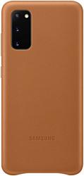 Samsung Leather Cover для Samsung Galaxy S20 (коричневый)