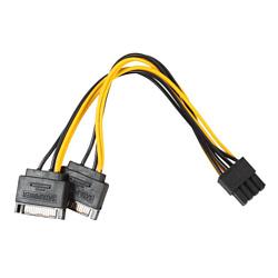 2 SATA - 8 pin