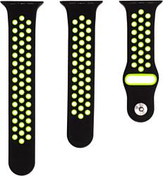 Evolution AW40-SP01 для Apple Watch 38/40 мм (black/fluorescent green)