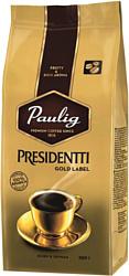 Paulig Presidentti Gold Label в зернах 250 г