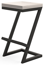 Millwood СДН-6 Бран/L (дуб белый Craft/металл черный)