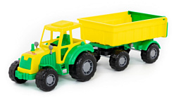 Полесье Мастер трактор с прицепом №1 35257