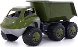 Полесье Дакар автомобиль-самосвал военный с прицепом РБ 49292