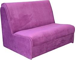 Купить прямой диван мебель-арс аккордеон 2 - фиолет в минске.