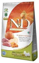 Farmina (2.5 кг) N&D Grain-Free Canine Pumpkin Boar & Apple Adult Mini