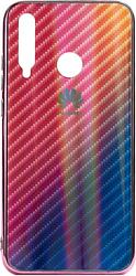 EXPERTS Aurora Glass для Honor 10i с LOGO (розовый)