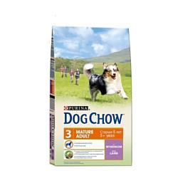 Purina Dog Chow Adult Mature ягненок 14 кг