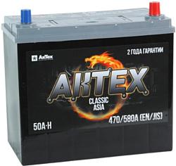 АкТех Classic Asia 6СТ-50LЗ/60B24L (50Ah)