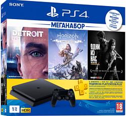 Sony PlayStation 4 Slim 1TB Detroit + Horizon Zero Dawn + Last of Us