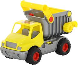 Полесье КонсТрак автомобиль-самосвал (жёлтый) 0407