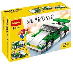 Decool Architect 3101 Спортивная машинка 3 в 1