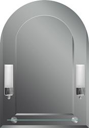 Dubiel Vitrum Tulipan VI 50x70 зеркало (5905241001128)