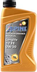 Alpine Longlife 12 FE 0W-30 1л