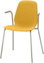 Ikea Лейф-Арне (темно-желтый/дитмар хромированный) 993.042.10