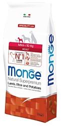 Monge Speciality Mini Adult Ягненок с Рисом и Картофелем (7.5 кг)