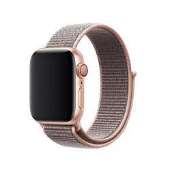 Apple из плетеного нейлона 44 мм (розовый песок) MTM92ZM