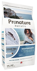 ProNature Средиземноморское меню с сельдью, лососем и чечевицей для кошек (0.34 кг)
