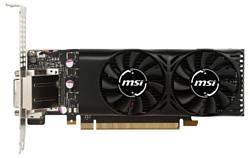 MSI GeForce GTX 1050 1354Mhz PCI-E 3.0 2048Mb 7008Mhz 128 bit DVI HDMI HDCP LP
