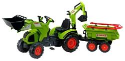 Falk Трактор-экскаватор с прицепом (1010WH)