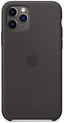 Apple Silicone Case для iPhone 11 Pro (черный)