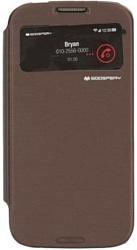 Mercury Goospery Easy View Cover для Apple iPhone 5 (коричневый)