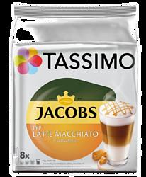 Tassimo Jacobs Latte Macchiato Caramel 16 шт