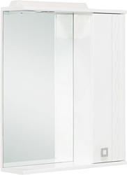 Onika Шкаф с зеркалом Лига 60.01К правый (белый) (206030)