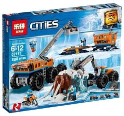 Lepin Cities 02111 Передвижная арктическая база