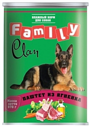 CLAN Family Паштет из ягнёнка для собак (0.970 кг) 1 шт.