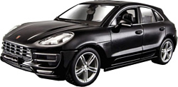 Bburago Porsche Macan 18-21077 (черный)