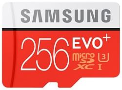Samsung microSDXC EVO Plus 95MB/s 256GB + SD adapter