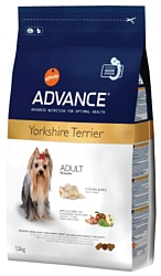 Advance Yorkshire Terrier Adult курица и рис (1.5 кг)