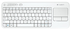 Logitech Wireless Touch Keyboard K400 White USB