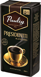 Paulig Presidentti Black Label молотый 250 г