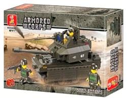 SLUBAN Сухопутные войска 2 M38-B0287 M1A2-Abrams