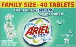 Ariel Actilift Febreze Effect Tablets 56шт.
