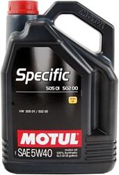Motul Specific 505 01 502 00 505 00 5W-40 5л